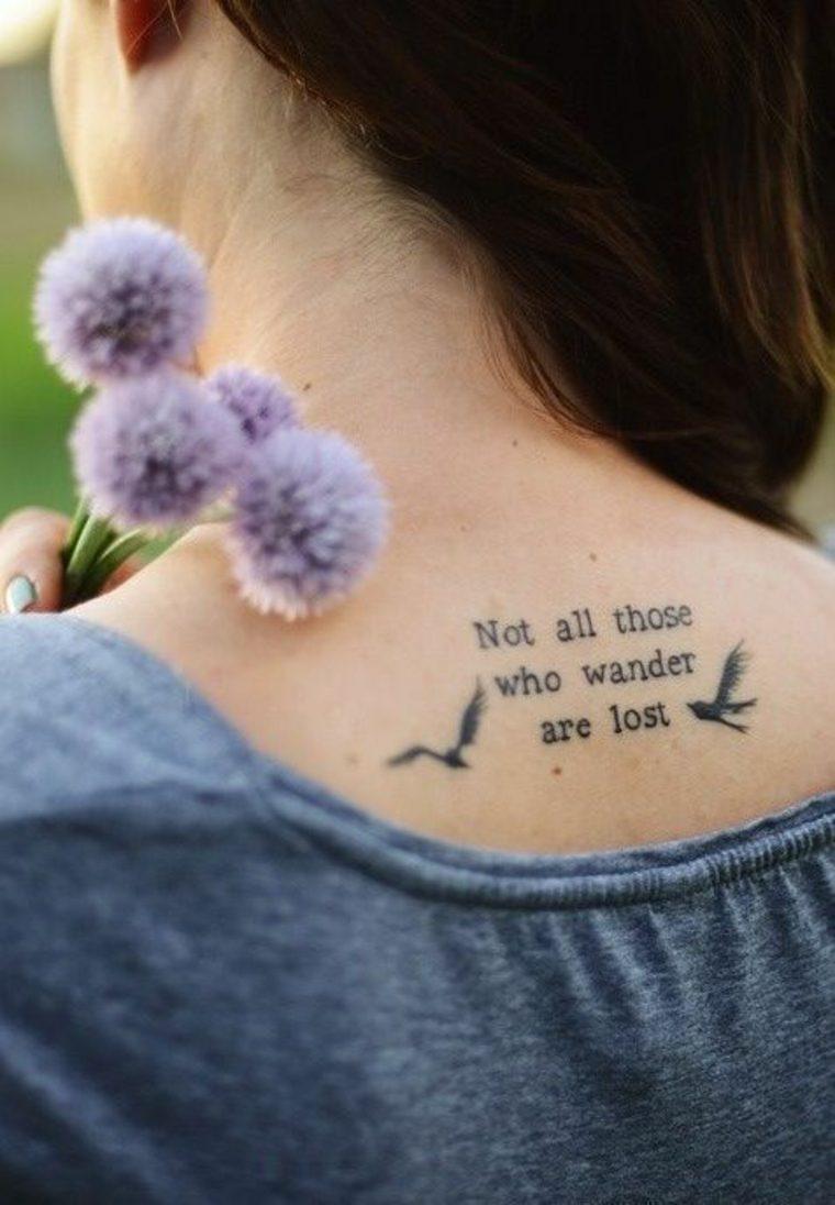 Tatuajes Diseño Creativo Con Frases Llenas De Significado