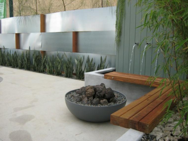 original fuente de jardín