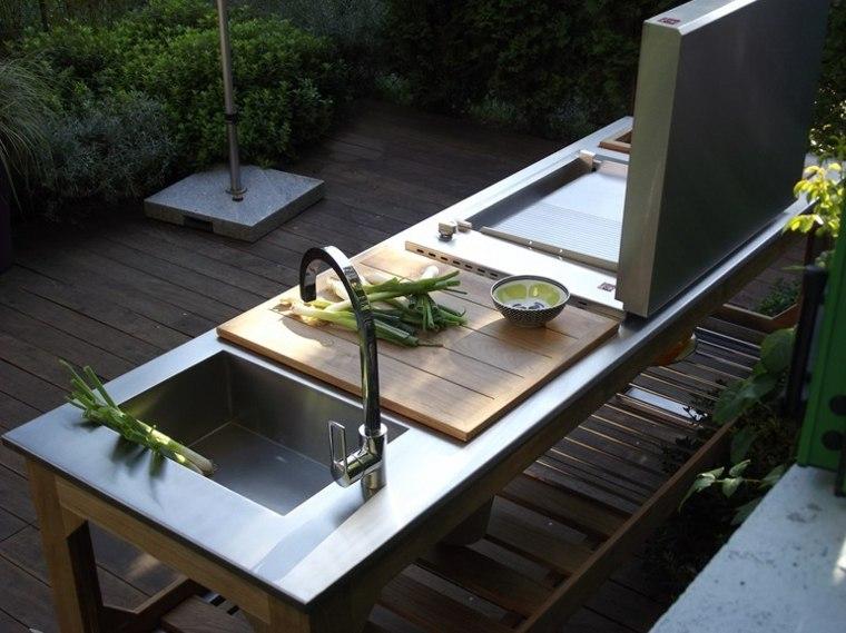 ideas cocinas-aire-libre-diseno-madera