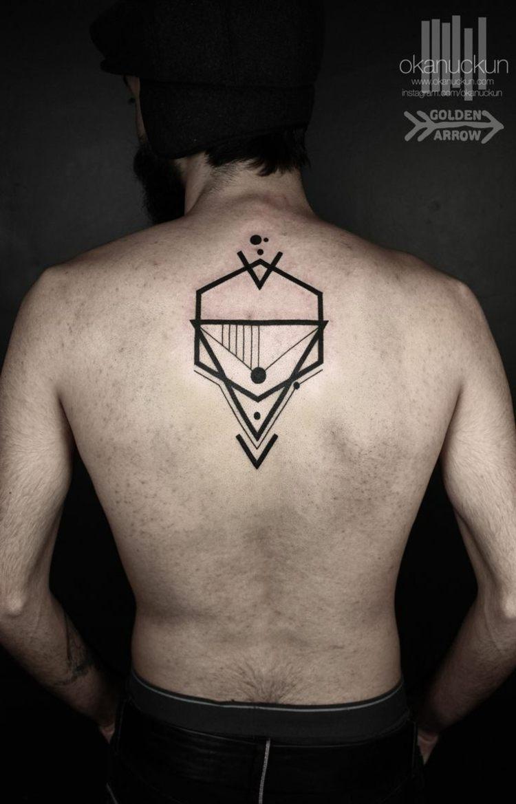 ideas tatuajes espalda hombres