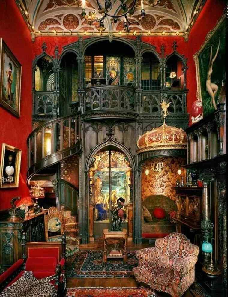 bonito salón vintage