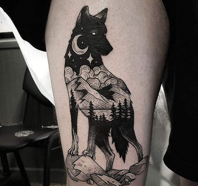 interpretacion-original-lobo-tatuaje-diseno