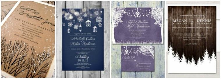 invitaciones-de-boda-originales-invierno-bosque-nevado