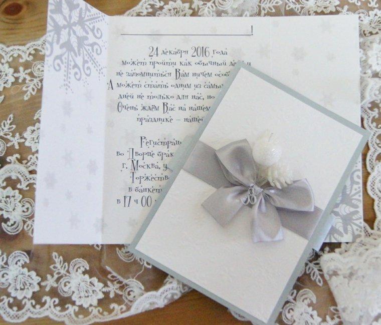 invitaciones de boda originales-invierno-copos-nieve