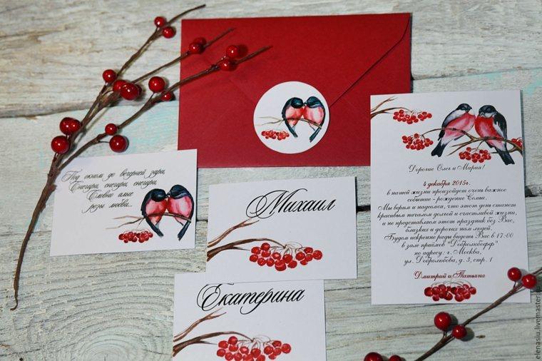 invitaciones de boda originales-invierno