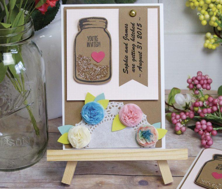 invitaciones de boda originales verano-coloridas
