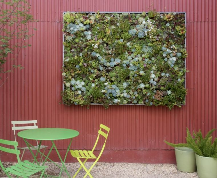 cómo hacer jardines verticales Diy