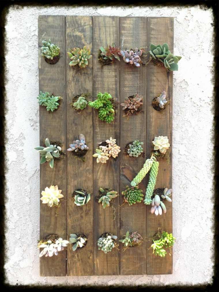 bonitos jardines verticales Diy
