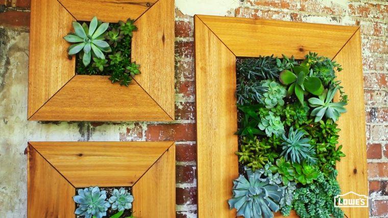 ideas sobre cómo hacer jardines verticales