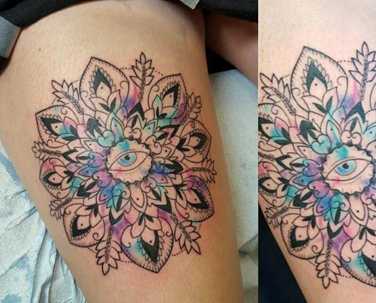 Mandala tattoo dise os originales y llenos de significado - Tattoo disenos a color ...