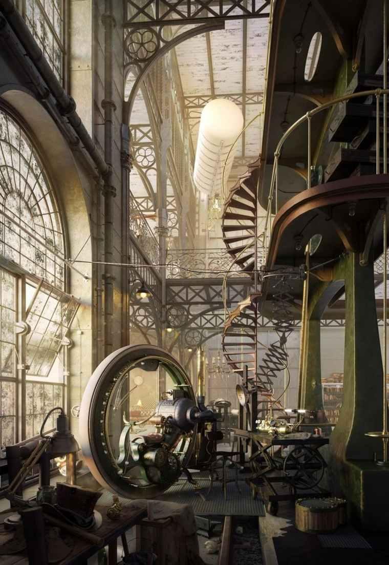 impresionantes interiores