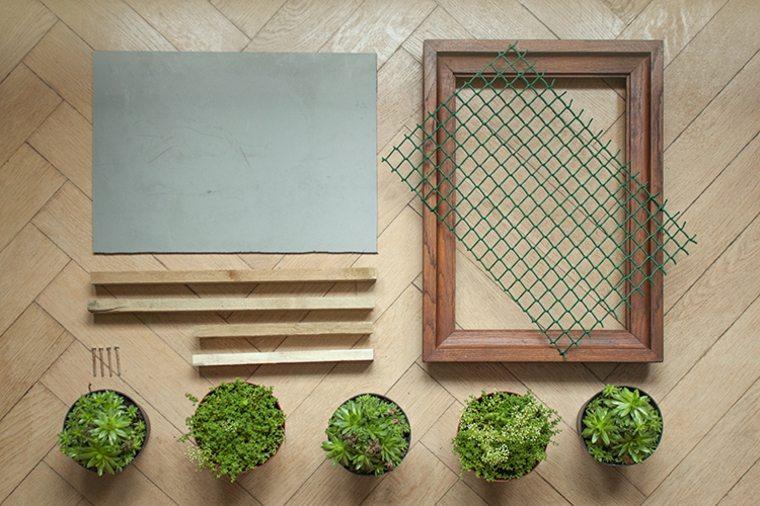 materiales para hacer un jardín vertical