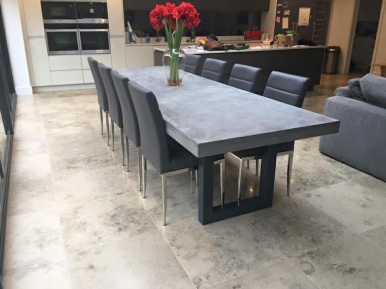 mesa elegante moderna