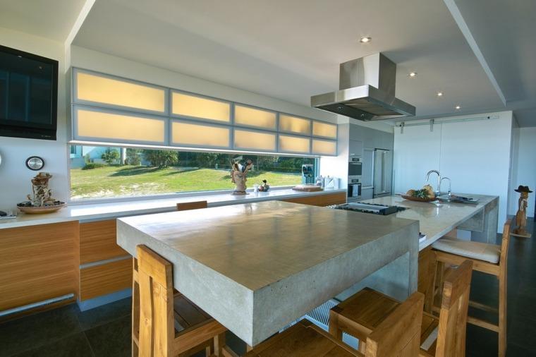 ideas para escoger mesas cocina modernas
