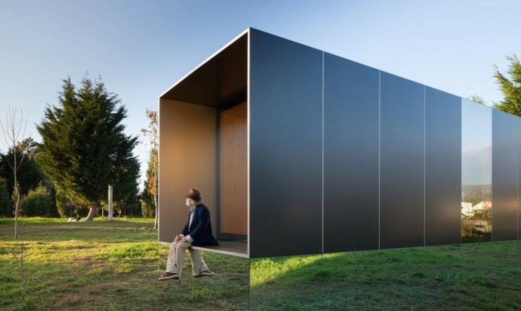 casa prefabricada rectangular de Mima