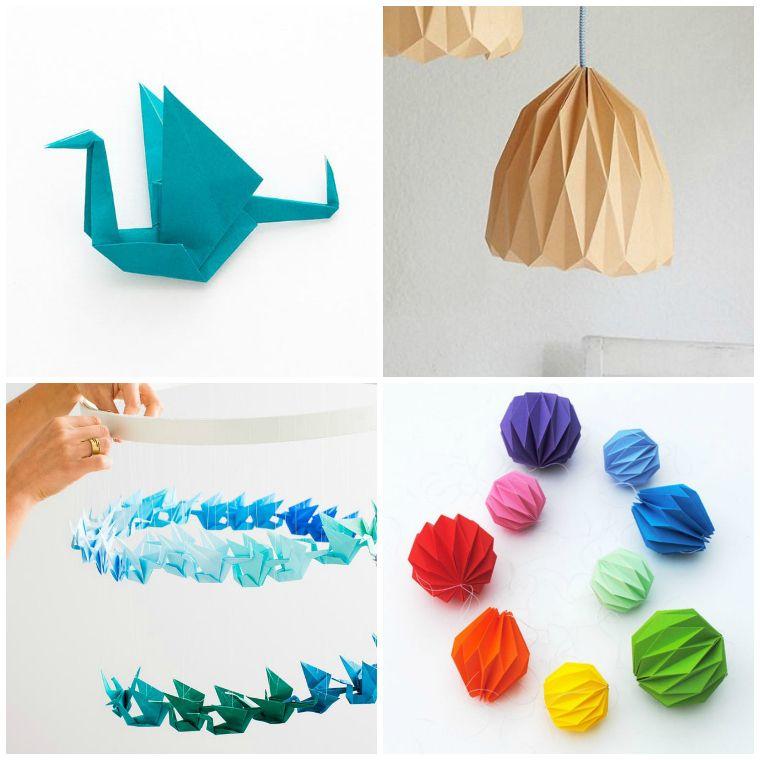 origami fácil decoracion-casa-papel