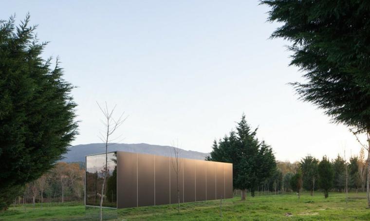 casa prefabricada rectangular