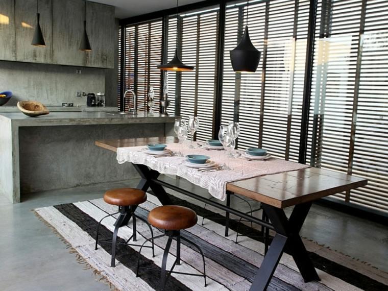 mesas de cocina originales
