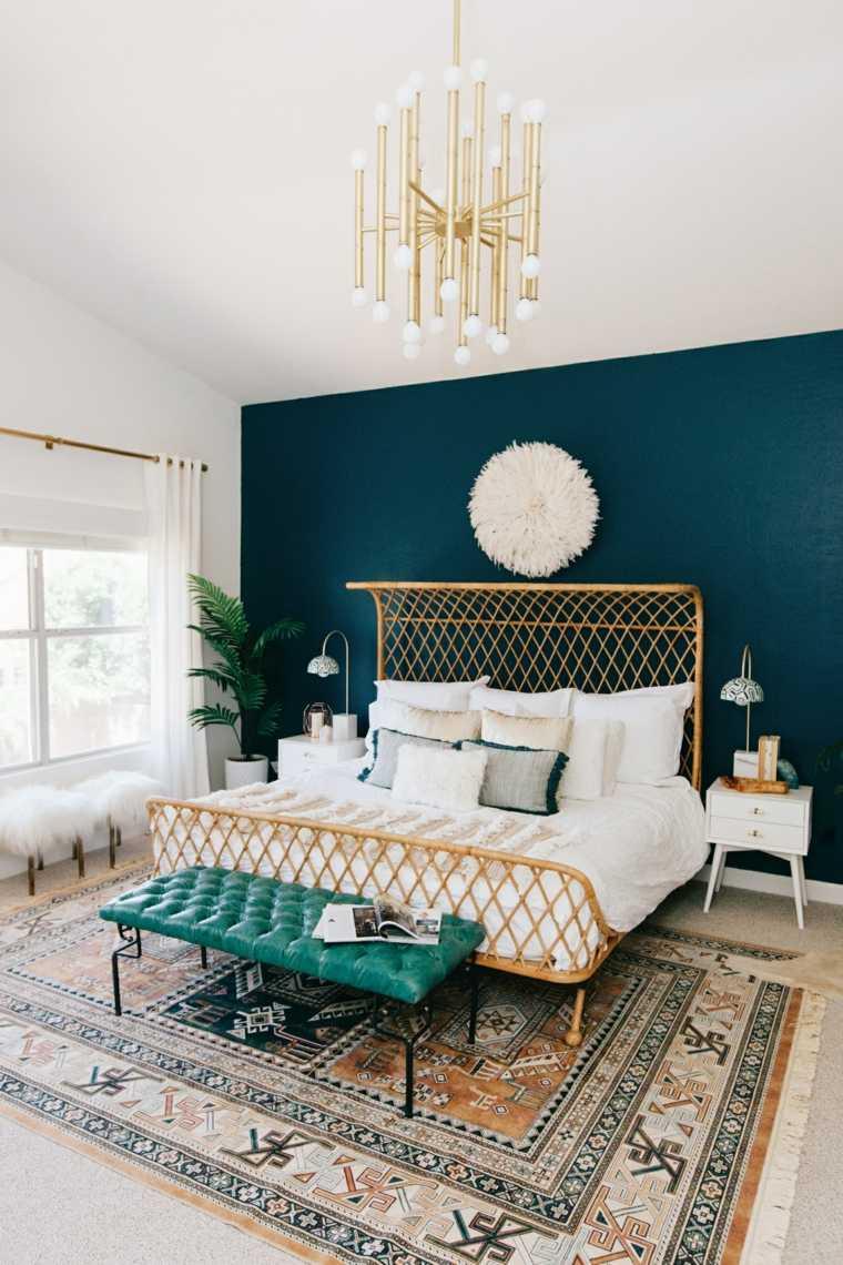 dormitorio estilo boho chic