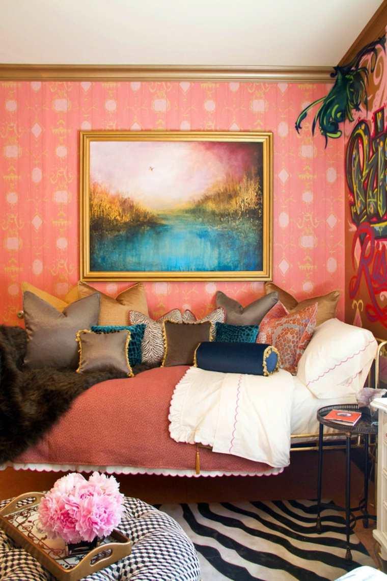 Boho chic – un estilo colorido y alegre para el dormitorio