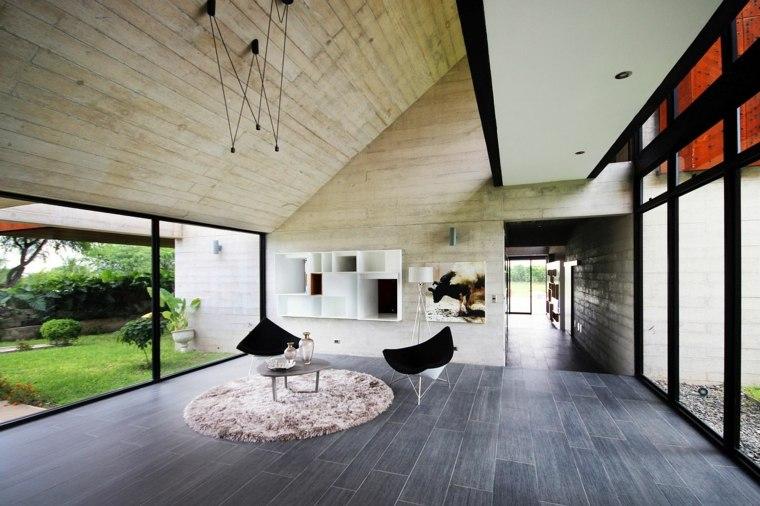diseño de interior de casa de vacaciones