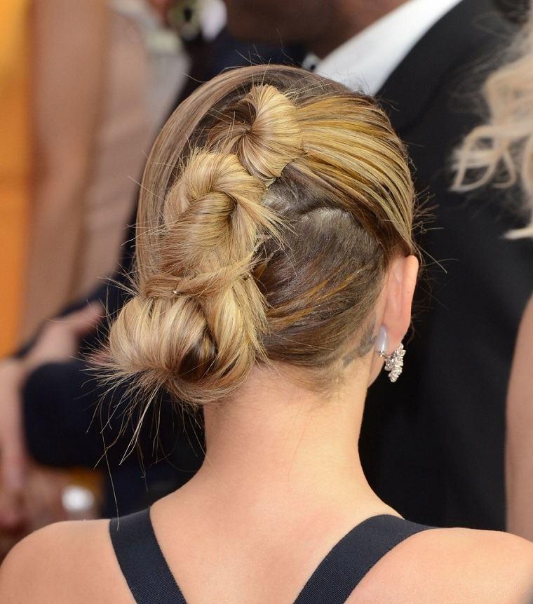 peinados de fiesta-opciones-originales-pelo-recogido