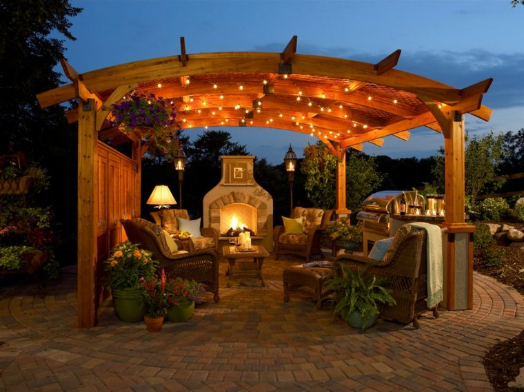 pergola-madera-salon-cocina-exterior