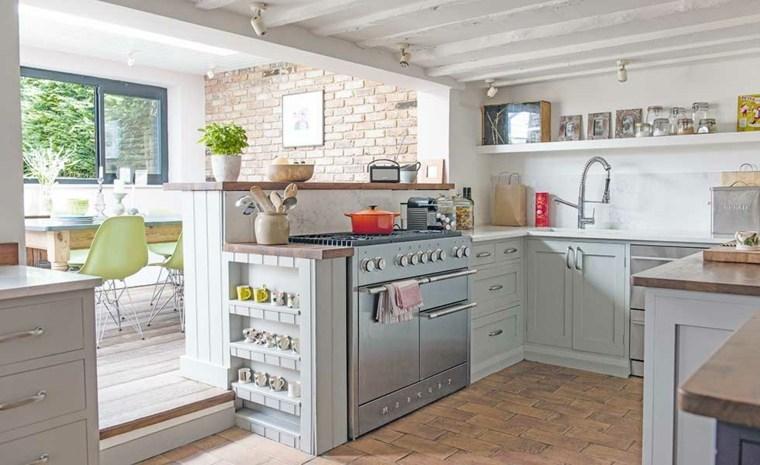 Cocina abierta la distribuci n id nea para espacios for Planos de cocinas 4x4