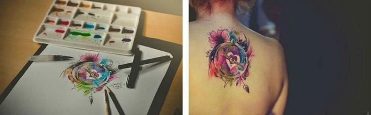 plantillas de tatuajes ideas modernas