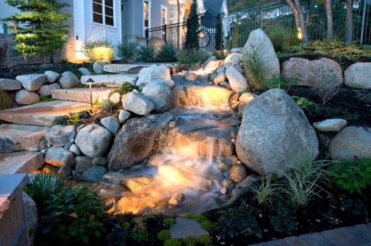 Fuentes y cascadas de jardín – consejos para su instalación