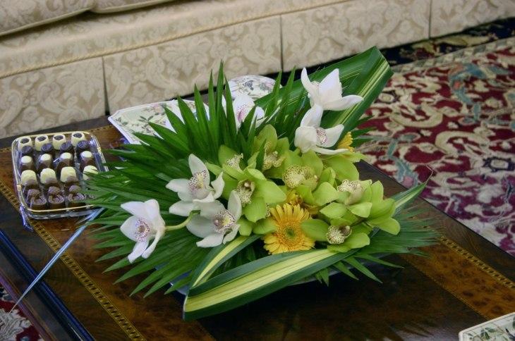 ramo de flores adorno exteriores