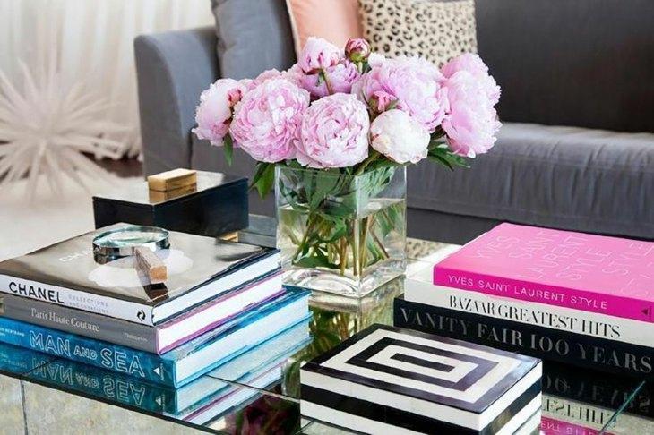 ramo de flores adorno flores mesa centro