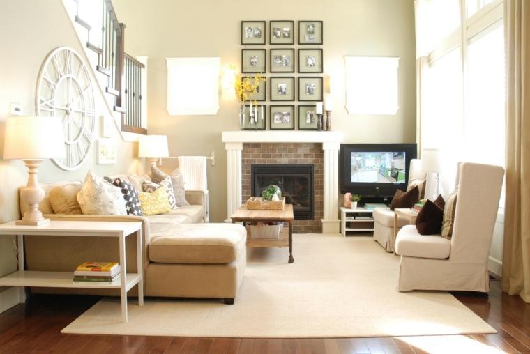 Chimeneas interiores inspiradores con chimeneas que amar s - Chimeneas de biocombustible ...