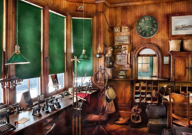 despacho de madera