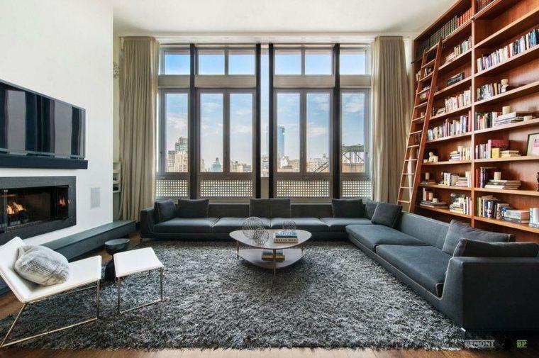 sala biblioteca moderna