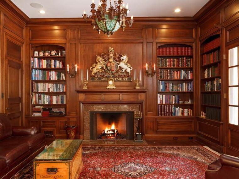 biblioteca elegante
