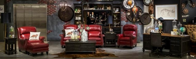 sillones rojos