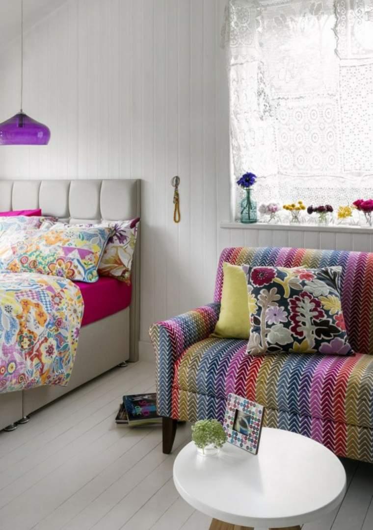 diseños de habitaciones de estilo boho chic