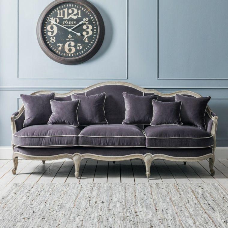 sofa-tres-asientos-terciopelo-gris