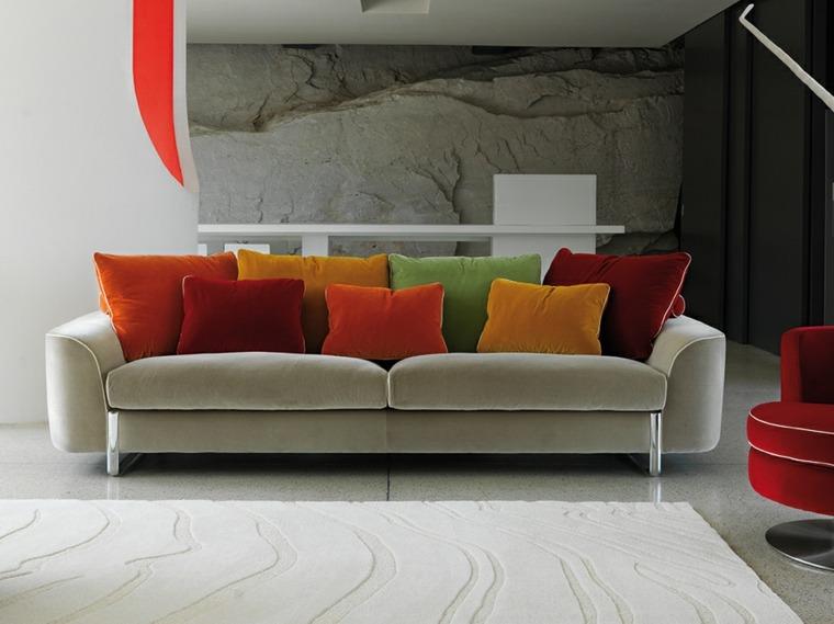 sofas-modernos-cojines-terciopelo-opciones