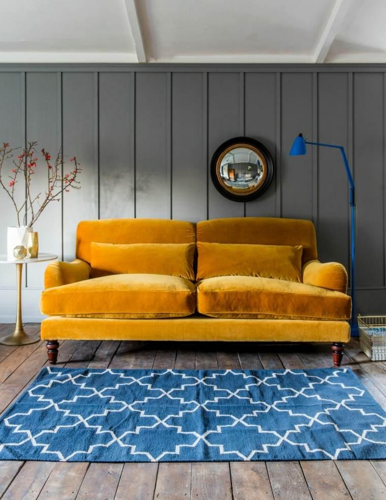 sofas-modernos-color-mostaza