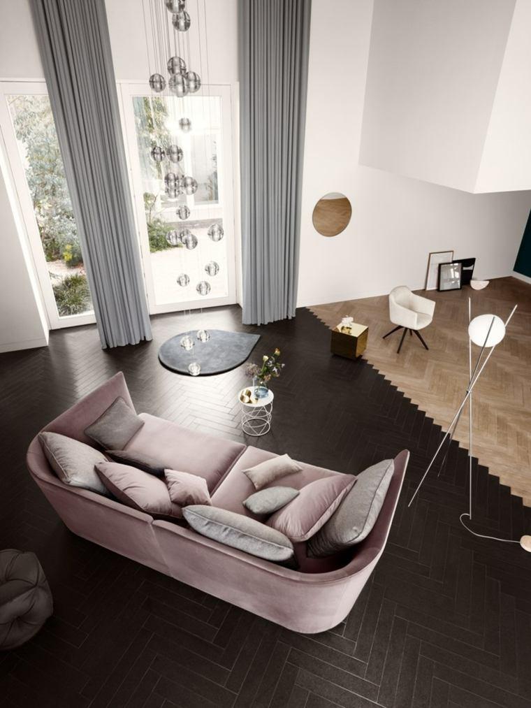 sofas-modernos-terciopelo-TONDO-Rolf-Benz