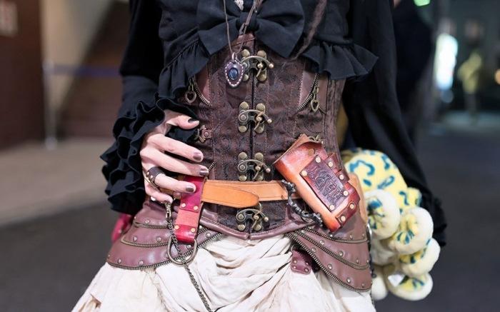 steampunk ropa de moda-impresionante-estilo-falda-estilo