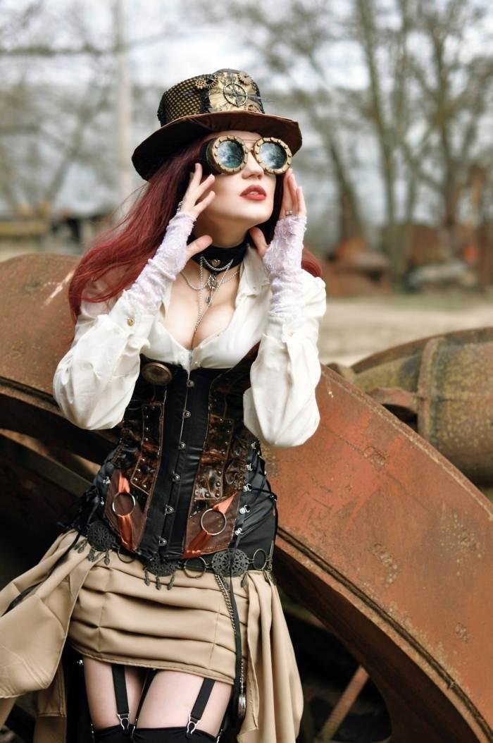 steampunk-ropa-de-moda-impresionante-gorra-diseno
