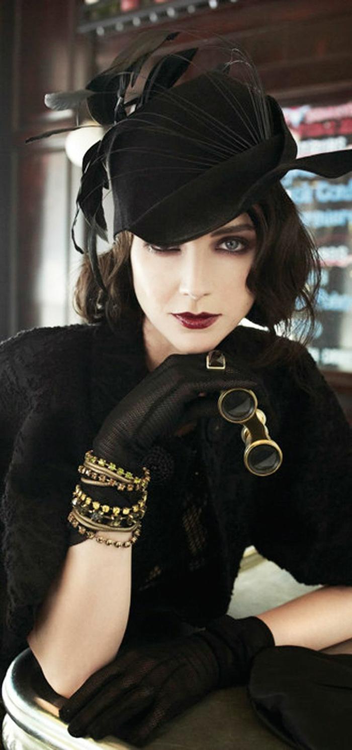 steampunk-ropa-de-moda-impresionante-mujer-estilo
