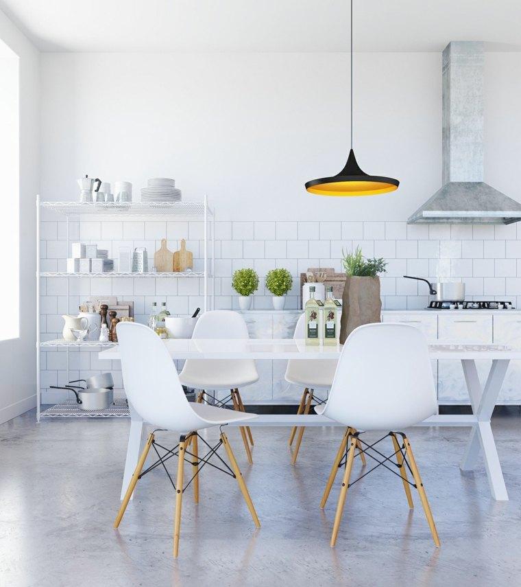 diseños de interiores con suelos de hormigón