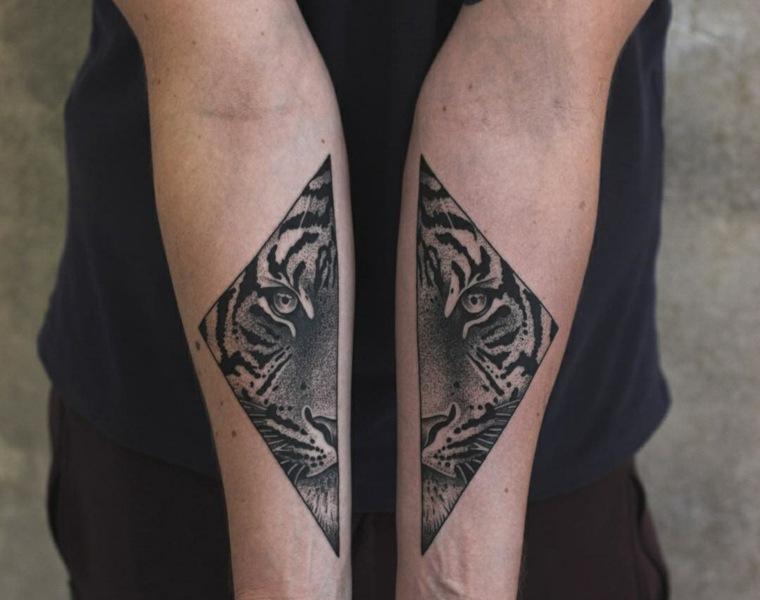 Tatuajes Para Hombres Increibles Disenos Geometricos Para Inspirarse