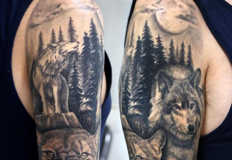 tatuaje-lobo-diseno-Gianluca-Ferraro