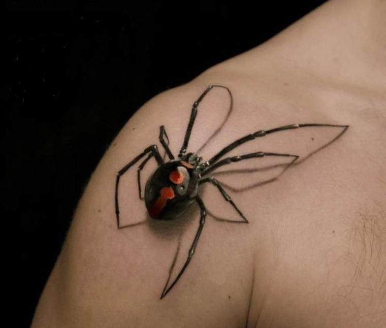 tatuajes-3d-opciones-arana-diseno-opciones