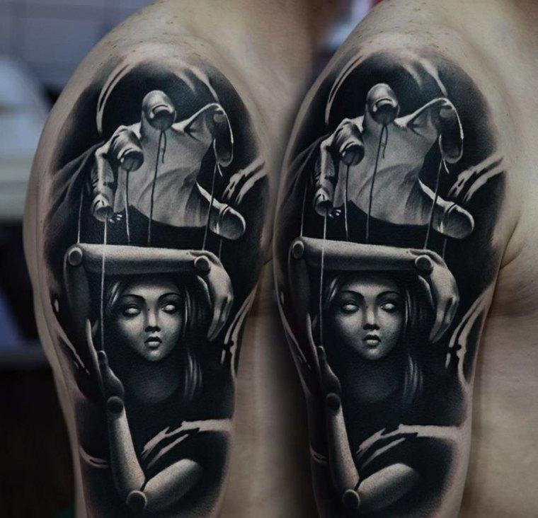 tatuajes-cara-3d-opciones-muneca-cuerdas